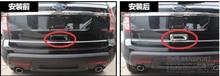 ABS ! Rear Door Handle Bowel Cover Trim 1 pcs For Ford Explorer 2011-2014 все цены