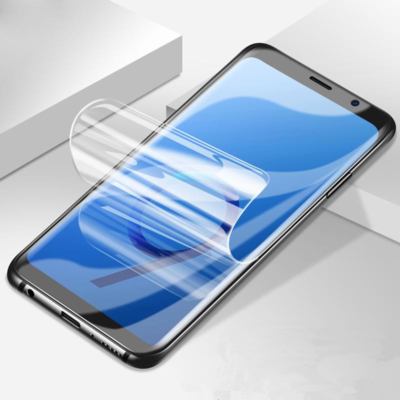 Soft Hydrogel film on for <font><b>Samsung</b></font> Galaxy S9 Plus Note 8 5 A3 A5 A7 2017 <font><b>A520</b></font> A320 J3 J5 J7 Pro Screen Protector film (Not <font><b>Glass</b></font>) image