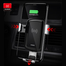 Brand Car Mount For Samsung S9 S8 Qi Wireless Charger iPhone XR Xs Max 8 Plus Quick Charge Fast Charging Holder