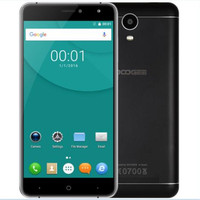 DOOGEE X7 3G Phablet 6.0 Inch Smartphone Android 6.0 MTK6580 Quad Core 1.3 GHz 1 GB + 16 GB BT 4.0 Dual Camera Mobiele Telefoon