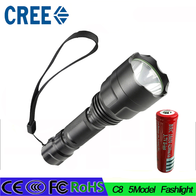 14 Z30 High Power 3800 Lumen 5 Mode CREE XM-L L2 LED Flashlight Torch Lamp Light Super Bright led light 18650 battery 2016 newest flashlight led cree xm l2 flash light 4 mode torch bike bicycle light outdoor lighting 18650 battery mount holder