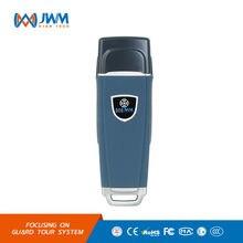 JWM Tres Lectores IP67 Sistema de Patrullas de Guardia RFID Gira de Rugby, Guardia de seguridad Patrulla Varita