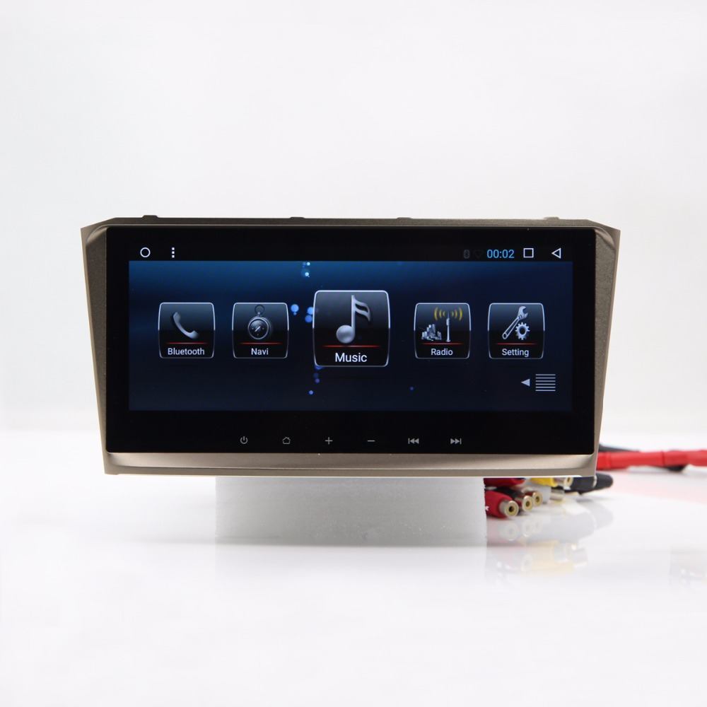 Avensis Radio Au Tableau de Bord Android Voiture GPS