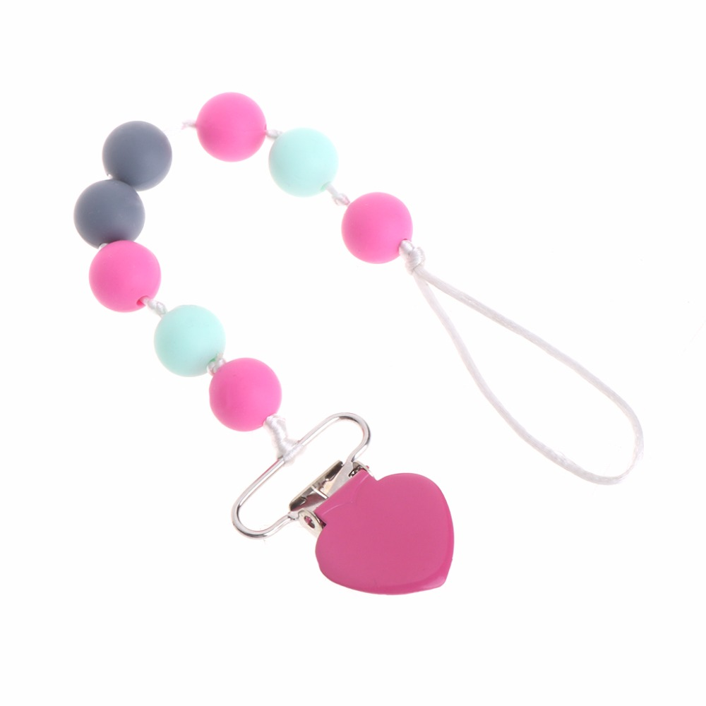 New 20 Pcs 12mm Round Baby Chew Jewelry Silicone BPA Free Beads Teethers DIY Necklace New 14Colors