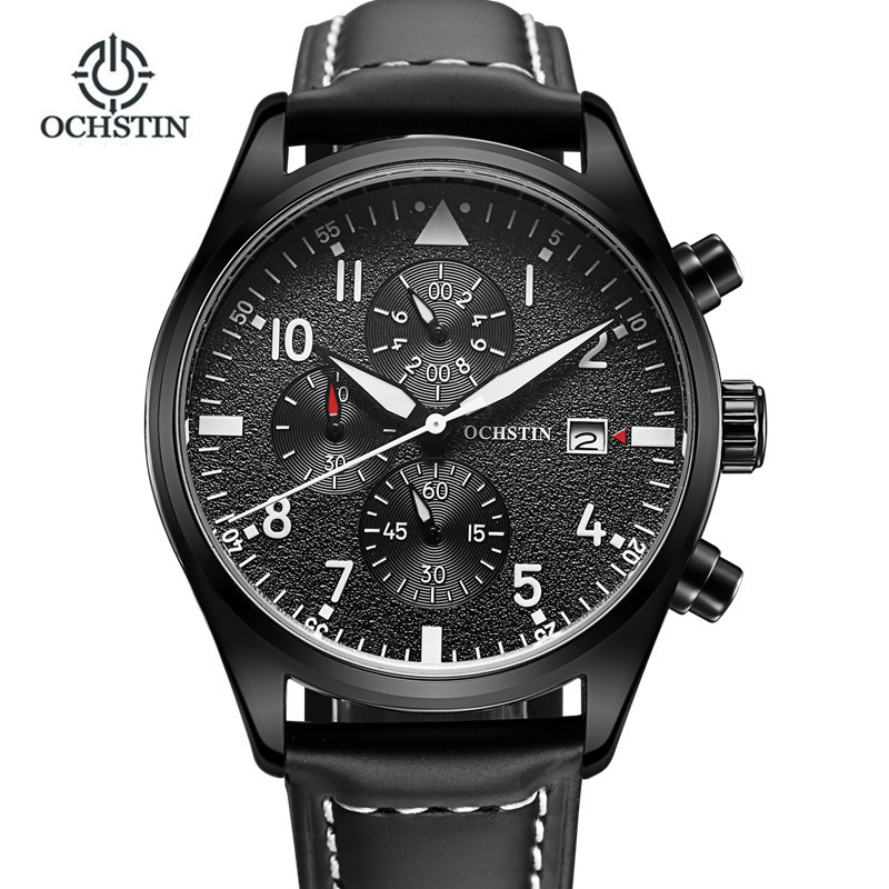 Relogio Masculino 2017 OCHSTIN Watch Chronograph Sports Watches Men horloges mannen Quartz Wrist Watch men erkek