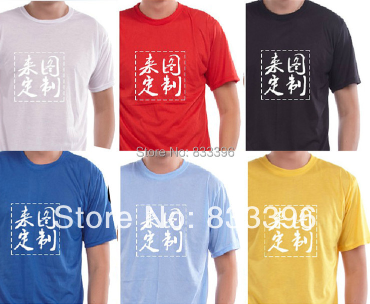 82af16344 summer 120 gsm promotional Blank O neck T Shirt With silk print customered logo  size S XXXL-in T-Shirts from Men's Clothing on Aliexpress.com | Alibaba ...