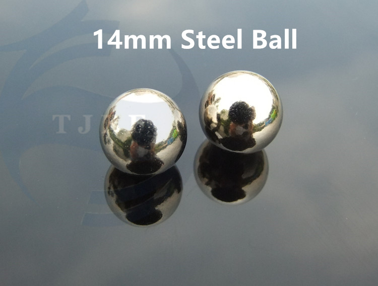 New Style 20 Pcs 14mm Dia Steel Balls Replacement For Bike Wheel Bearing ,DIY Usage