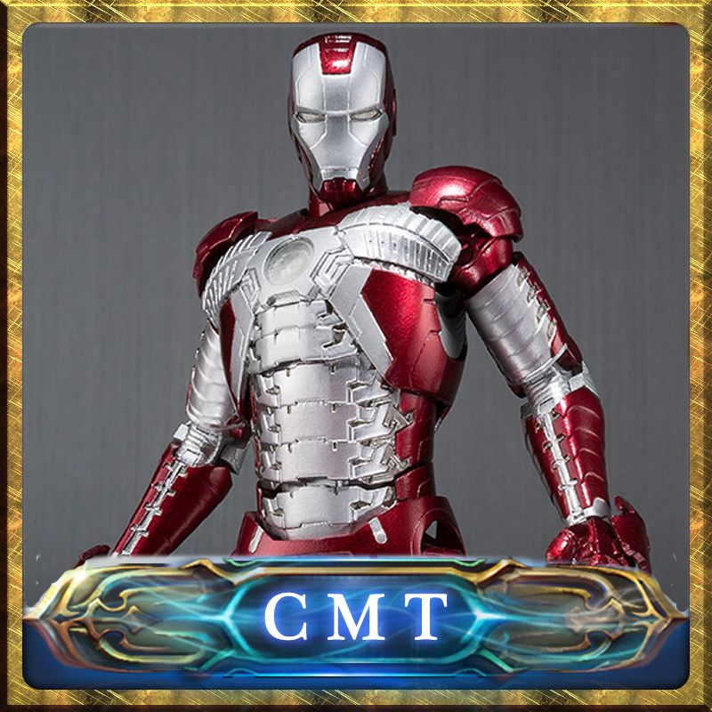 CMT INSTOCK BANDAI S.H.Figuarts Iron Man Mark 5 & Hall of Armor (HOA) Action Figuarts anime figure the tenant of wildfell hall