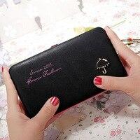 Fashion Lunch Box Mobile Phone Bag Women Wallets Casual Clutch Luxury Portfolio