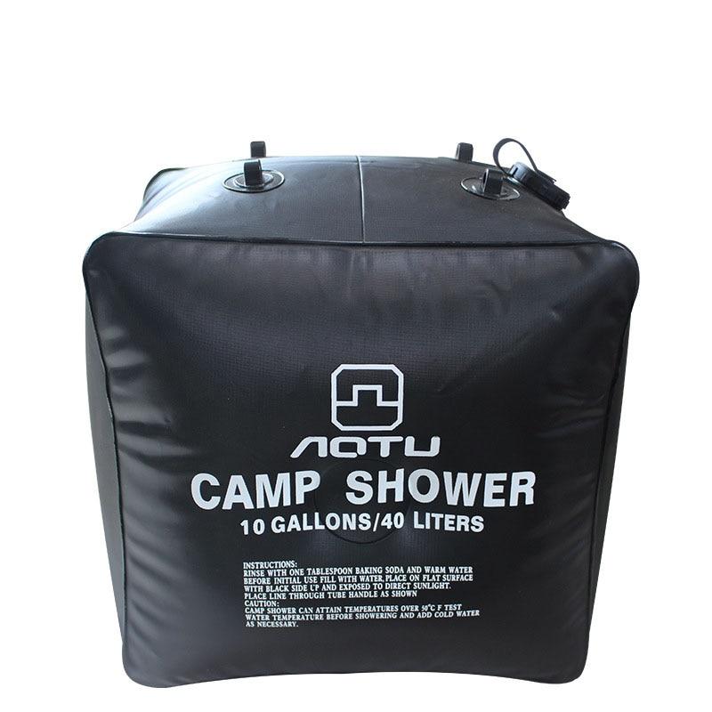 New Arrival Portable 40L Folding Shower Solar Heated ...