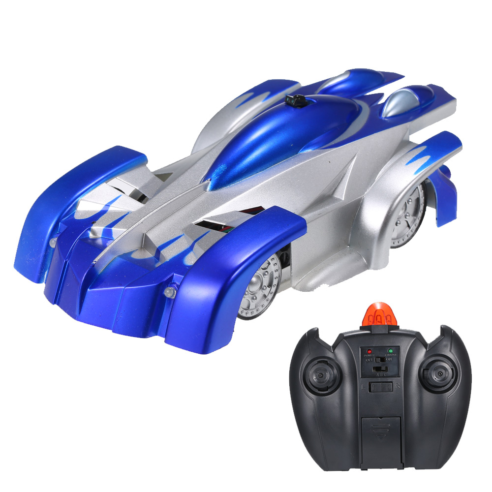 Rc Wall: Wholesale Remote Control Wall Climbing RC Car With LED