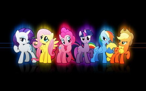 """01 My Little Pony Friendship is Magic Cute 22"""" x 14"""" inch Wall Poster"""