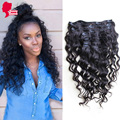 Human Hair Clip In Extensions Brazilian Loose Wave Clip In Human Hair Extensions African American Brazilian Virgin Hair Clip Ins