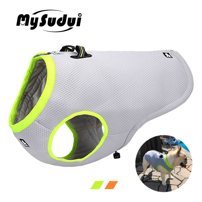 MySudui Truelove Cooling Dog Vest Harness Reflective Outdoor Pet Dog Clothes Summer Dog Cooling Vest Coat For Dogs Chaleco PerroMySudui Truelove Cooling Dog Vest Harness Reflective Outdoor Pet Dog Clothes Summer Dog Cooling Vest Coat For Dogs Chaleco Perro