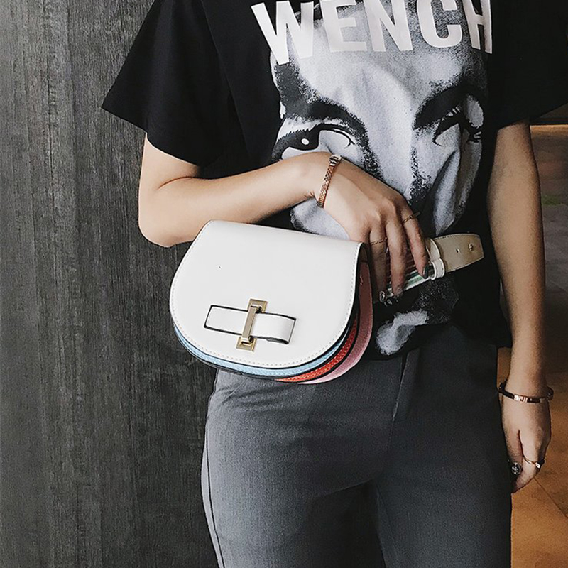 Fashion Women Bag Female Leather Waist Packs Luxury Brand Small Chain Shoulder Bag Girl Phone Pouch Fanny Pack Heuptas Pochete цена 2017