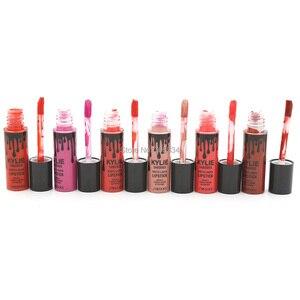 Rouge à lèvres mat brillant à lèvres maquillage 1 photos/lot rouge à lèvres liquide mat imperméable 8328