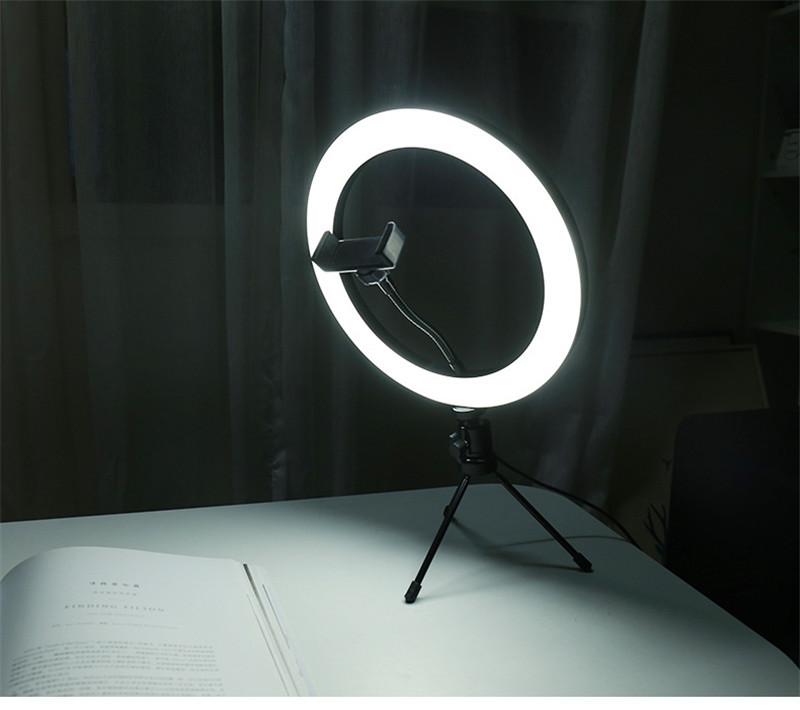 New Led Ring Flash Lights With Holder For iPhone Xiaomi Huawei Samsung Phones 25