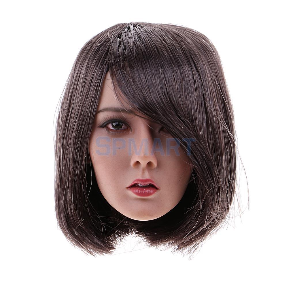 MagiDeal 1/6 Scale Female Head Sculpt for 12 Inch Female Figure Head Model Toys Accessories цена 2017