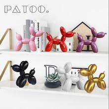 Ins Nordic creative balloon dog Ceramic small ornaments gift cute home decoration craft wine cabinet jewelry decor