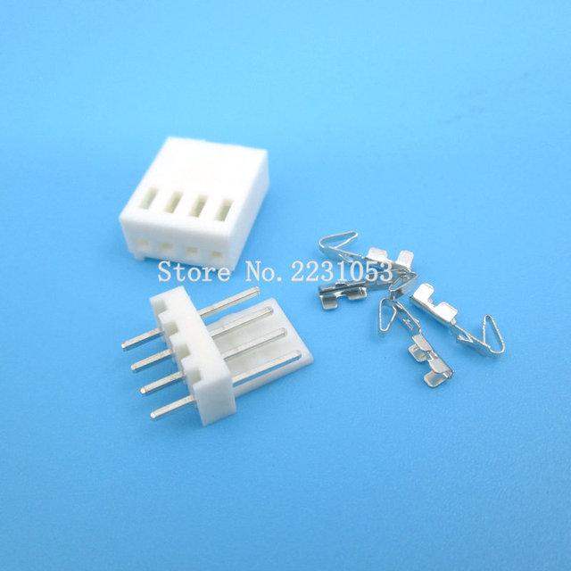 20 ensembles KF2510-4P KF2510 4 broches 2.54mm pas Terminal/boîtier/broche en-tête connecteur adaptateur