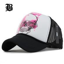87d61b81853ccf  FLB  12 Styles 2018 Unisex Acrylic 5 panels Adjustable Baseball Cap Summer  mesh caps Snapback Baseball Cap Men Fitted Hats Caps