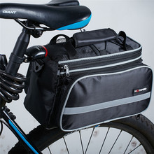 Waterproof Multifunction Mountain Road Bicycle Bike Bag Cycling Double Side Rear Rack Tail Seat Trunk Pannier