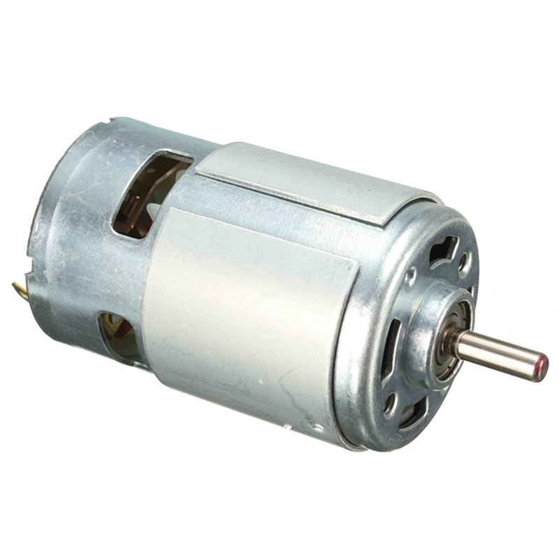 775 motor DC 12V 150W Idling speed 13000~15000rpm High speed Large torque DC motor Electric tool Electric machinery silver metal