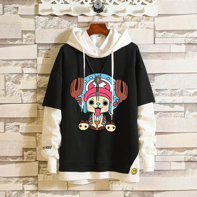 ONE PIECE THEMED PULLOVER HOODIE (11 VARIAN)
