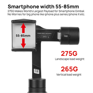 Image 4 - In Stock Freevision Vilta M Pro 3 Axis Handheld Gimbal Smartphone Stabilizer for Huawei P30 Pro IPhone X XS Samsung Gopro 5/6/7