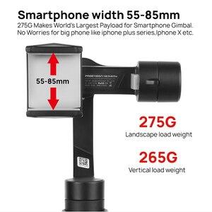 Image 4 - 재고 Vilta M Pro 3 축 짐벌 스마트 폰 안정기 화웨이 P30 프로 아이폰 X XS 삼성 Gopro 5/6/7