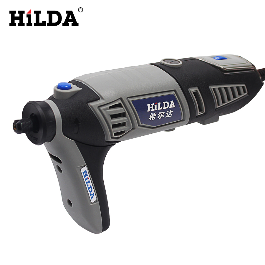 HILDA Russia 220V 180W for Dremel Electric Rotary Power Tool Mini Drill with Flexible Shaft 132pcs Accessories Set Storage Bag