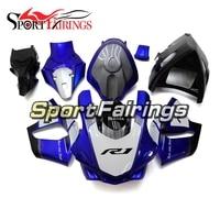 Fiberglass Racing Full Fairings For Yamaha R1 2015 2016 Fairing Kits YZF R1 2015 2016 Motorcycle Cowlings Blue Black Body Kits