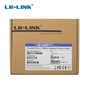 Image 5 - LR LINK 9030PF LX 100 Mb In Fibra ottica adattatore Lan Nic 100FX pci express x1 scheda di rete ethernet per pc del computer Intel 82574