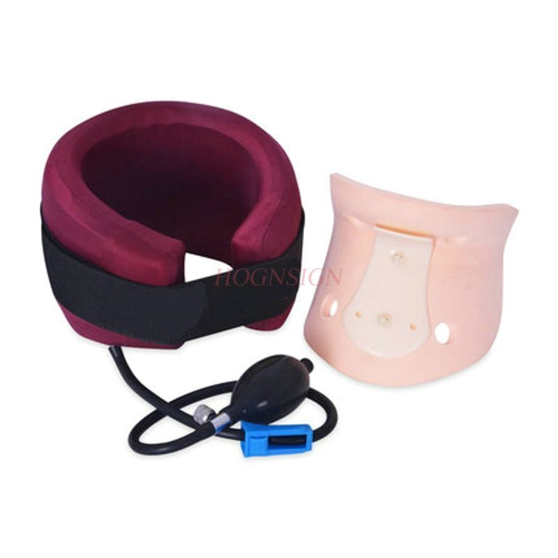 cervical Cervical Traction Device Inflatable Home Neck Stretch Massage Medical Correction Vertebral Disease Treatment in Neck Tractor from Beauty Health