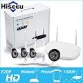 2/4CH 720P HD Wireless CCTV System WIFI NVR Mini Outdoor Bullet  IP Camera IR-CUT CCTV Camera Security Video Surveillance Kits