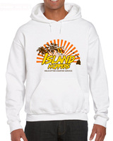 Isola di Tramogge Magnum Pi Is Pirato Men DEGLI ANNI '80 Tv Show di Nuovo Alla Moda di Vendita Calda Degli Hoodies Sweatshirt