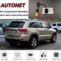 Cámara de visión trasera para Jeep Grand cheroki WK2 2011 2012 2013 2014 2015 Cámara de matrícula/cámara de aparcamiento