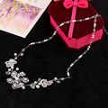 The new fashion Bridal dress accessories top-grade handmade jewelry necklace earrings vintage jewelry sets