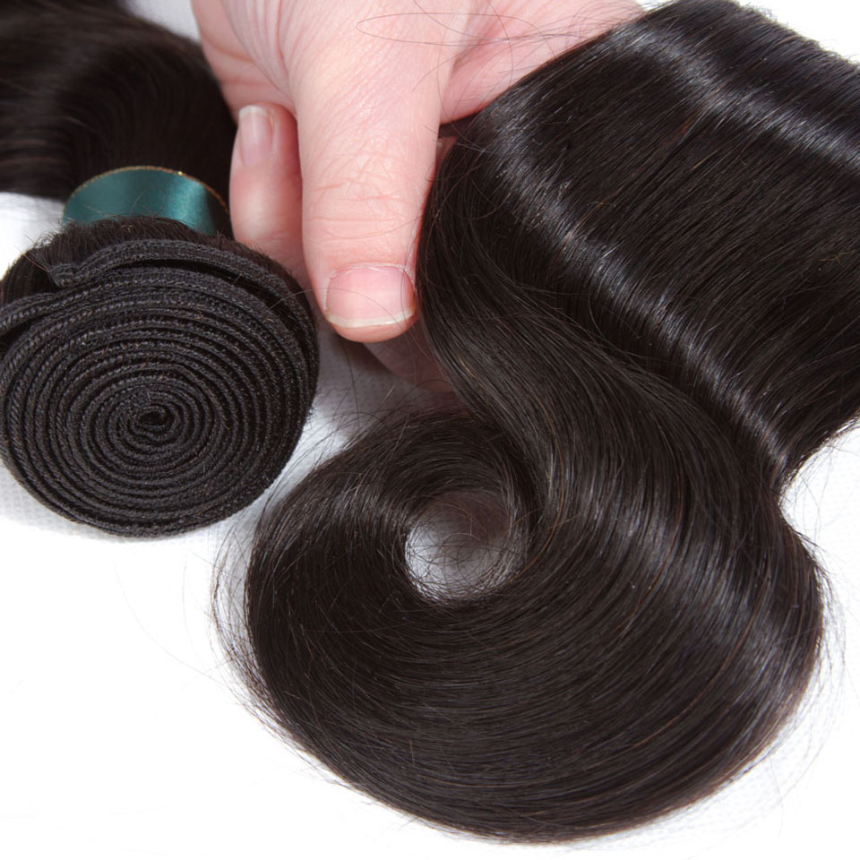 Subella Peruvian Hair Body Wave Weaves 4bundles Human Hair Weaving Free Shipping Non Remy Can Be Dyed no shedding