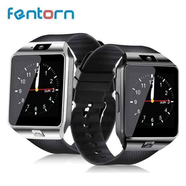 3a6e5fd17e3 Fentorn Bluetooth Relógio Inteligente Relógio Android Smartwatch DZ09  Telefone Chamada SIM TF Camera para IOS iPhone