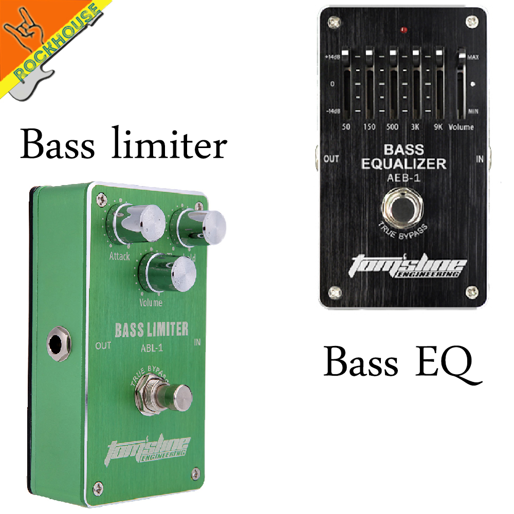 AROMA Effect Pedals Package sales BASS limiter and Bass EQ effect pedal integrant pedals for bass player free shipping aroma effect pedals package sales classic chorus and analog delay guitar effect pedal integrant pedals for player free shipping