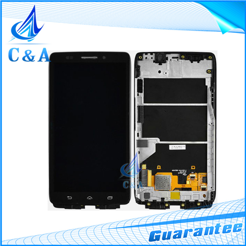 5pcs/lot Free DHL/EMS Shipping New Replacement Parts for Motorola Droid Ultra XT1080 MAXX XT1080M LCD Screen Display+Touch+Frame dhl ems 5 new for pro face touchscreen glass agp3300 l1 d24 f4