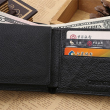 PU Leather Wallet Leather Men Wallets Short Designer Wallet Bifold Pur