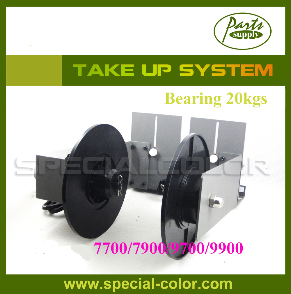 Automatic Printer Media Roller Take up System bearing Weight 20kg for 7700/7900/9700/9900 printer maintance tank chip resetter for epson 7900 9900 7700 9700 printer