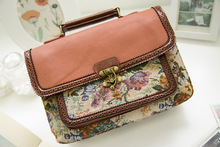 Steampunk Sweet british women bags  Steam Punk Retro Handbags lady shoulder bag working briefcase