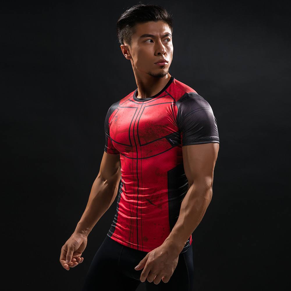 Punisher 3D Printed T-shirts Men Compression Shirts Long Sleeve Cosplay Costume crossfit fitness Clothing Tops Male Black Friday 86