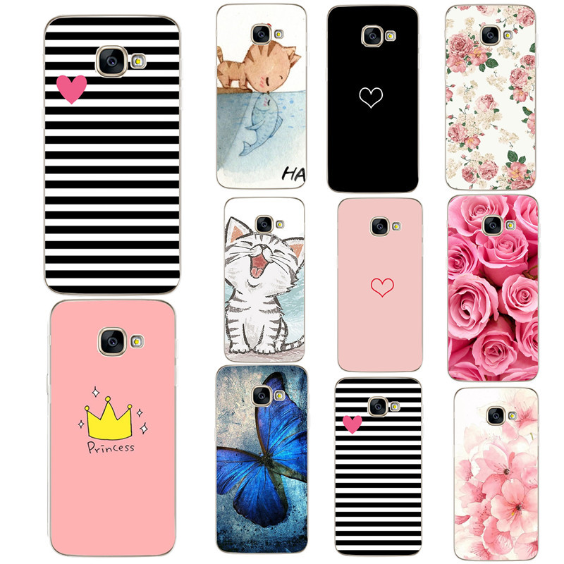 Phone-Case Cover Silicon S9 Plus Samsung S8 For Galaxy A5 A3 A7 Full-360