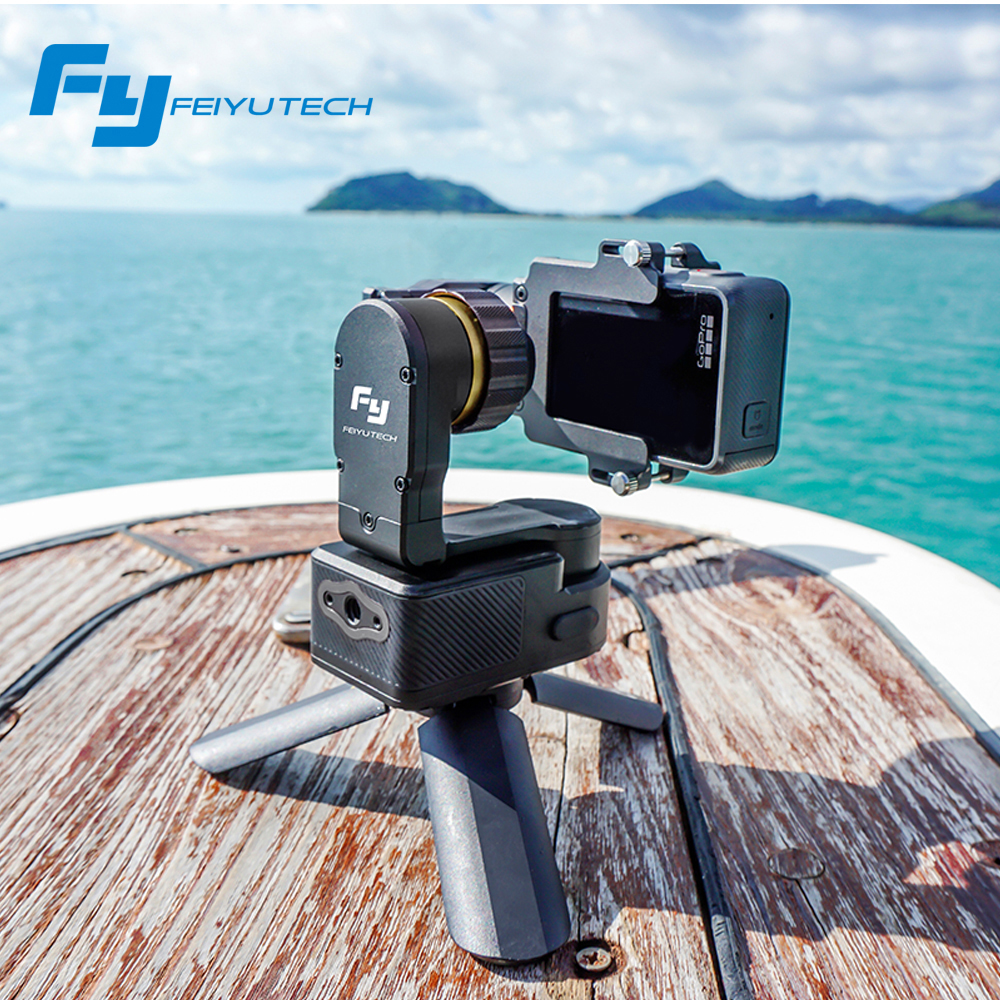 FeiyuTech Newest WG2 Wearable 3 axis Waterproof Gimbal Stabilizer for Gopro 4 5 session YI 4K