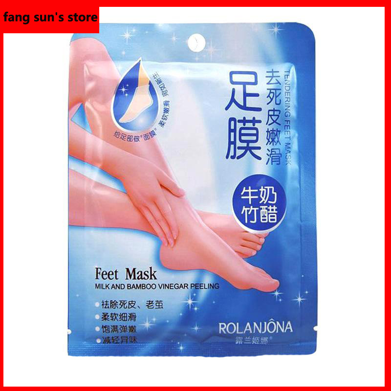 20pairs/lot free shipping Exfoliating Foot Mask foot care mask health care unprecedented the most moderate  mask