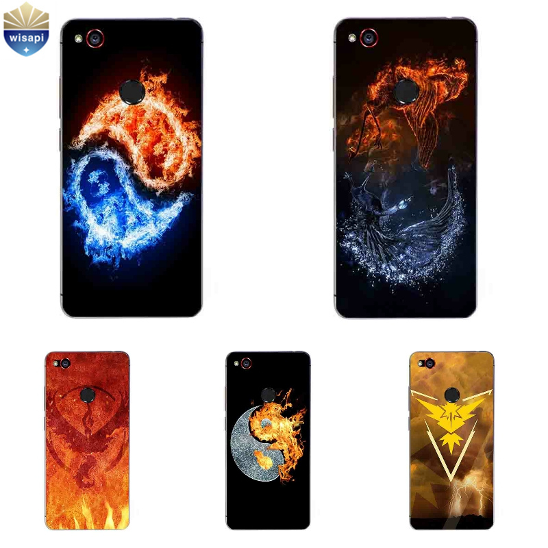 Phone Case For ZTE Nubia Z9 MAX For ZTE Nubia Z11 / Z11 Mini Cover For Nubia Z11 MiniS Shell TPU Gossip Fire Design Painted ...